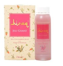 HIRAQ SEA CUCUMBER JELLY WITH GOJI AND ROSELLE (STRAWBERRY FLAVOR - 250ML)