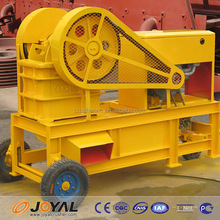 High quality Diesel Engine small jaw crusher / mini stone crusher machine