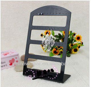 T shape Acrylic Earrings Display Holder