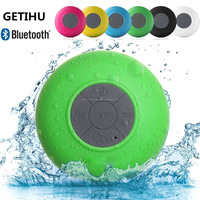 Ceiling Speaker BTS-06 Subwoofer Bluetooth Speaker Stereo Shower Wireless Mini with Sucker Music Audio Receiver Phone Call