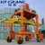 100 ton tyre type mobile transfer gantry crane