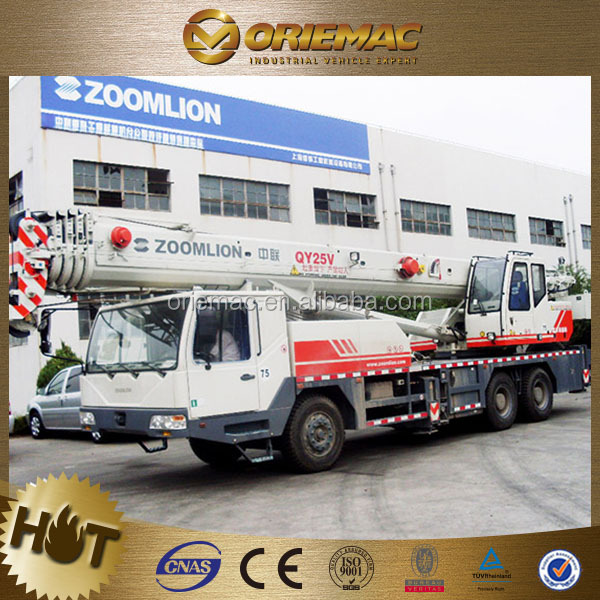 ZOOMLION 25 Ton Mobile Crane with 47M lifting height QY25V531