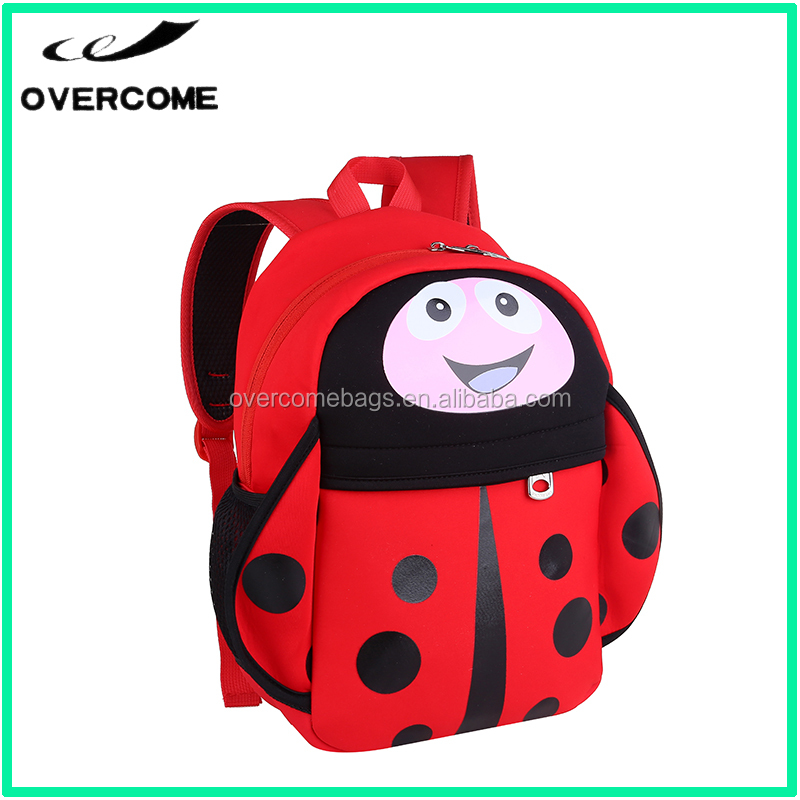 2017 Factory make new design elementary student school bag,lovely girl picture school bag,cartoon child school bag