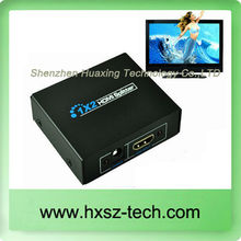 HDMI splitter 1/2 MRS Professional hdmi 1.4 high speed 4K 1 INPUT 2 OUTPUTS