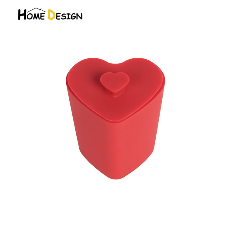 Heart shape heat- resistant silicone sauce cup set