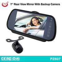 "New 7"" TFT LCD Color Mirror Monitor for Car Reverse Rear View Backup"