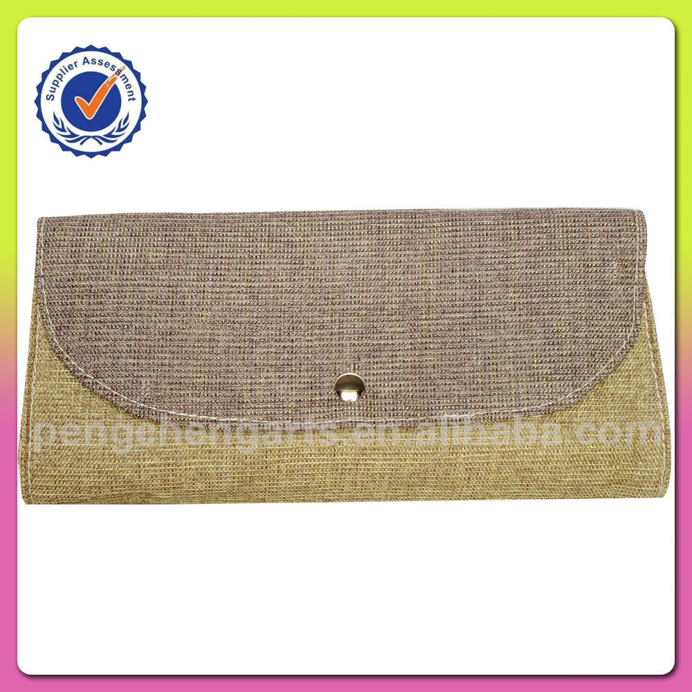 clutch bag and polyester wallet for women