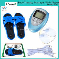 Electronic Pulse Magnet Therapy Foot Massage Shoes with Electrode Pads