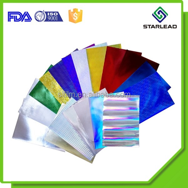 hologram paper Metallized papers and holographic papers have been shown to visually enhance  packaging, promotions and advertising by appealing to base human instincts,.