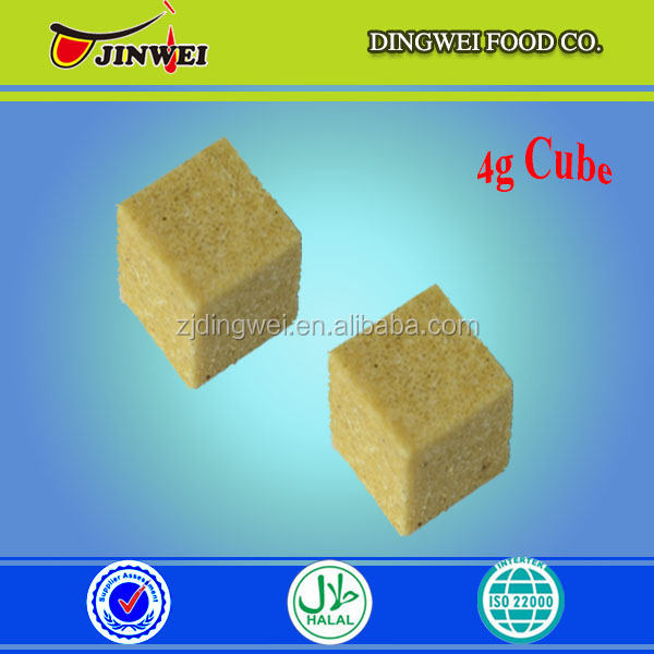 100% Green health halal barbecue seasoning cubes/powder