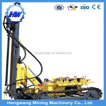 China Ingersoll Rand mining rock portable crawler dth drilling rigs manufacturers