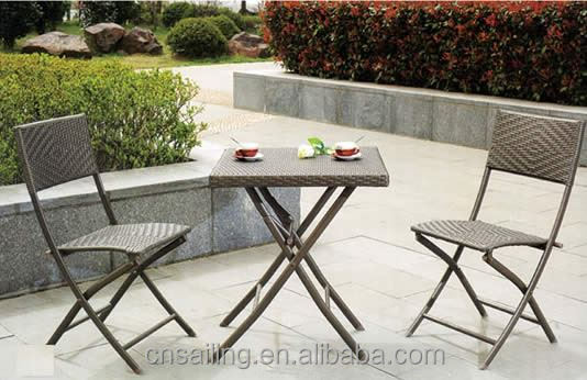 Cheap Patio Waterproof bbq table and chairs set
