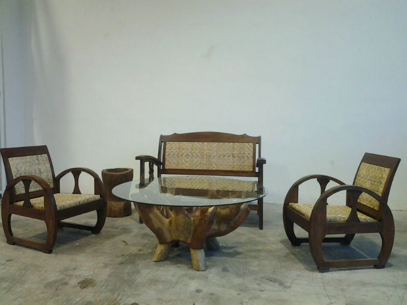 Retro Rattan sofa set