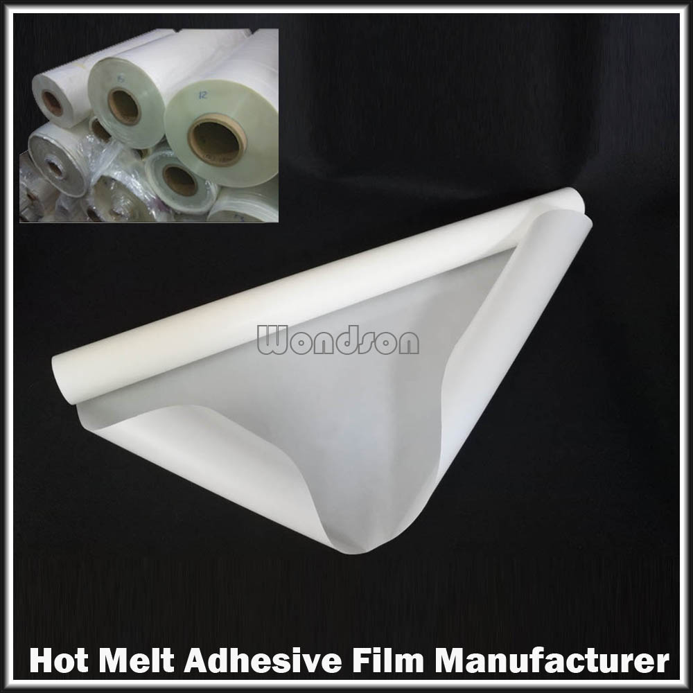 Polyester Laminating Vinyl Slitting Hot Glue Sticks Hot Melt Adhesive Film