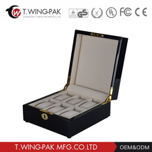 Elegant looking and high quality handmade durable wooden watch box for high end