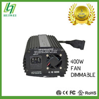 Hydroponic 400W Electronic Dimmable Ballast With Cooling Fan Original Manufacturer