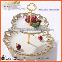 NHTC651 Cake Tray Ceramic Craft Hot New Products For 2014