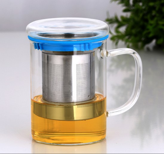 single wall glass tea infuser /glass tea infuser /glass tea cups