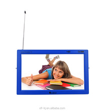 Black/White appearance Small Size mini lcd outdoor DVB-T2 TV with USB Jack