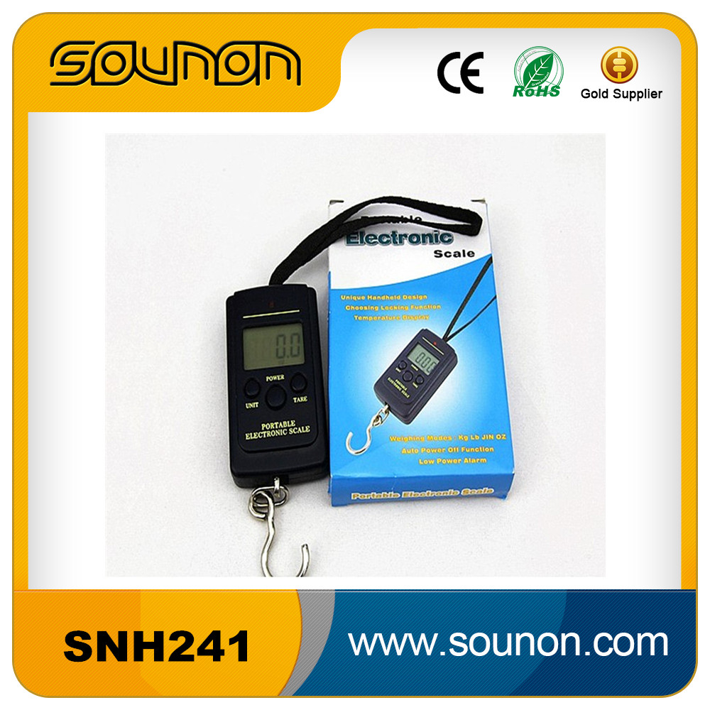 20g 40Kg Pocket Digital Scale Electronic Hanging Luggage <strong>Balance</strong> Weight
