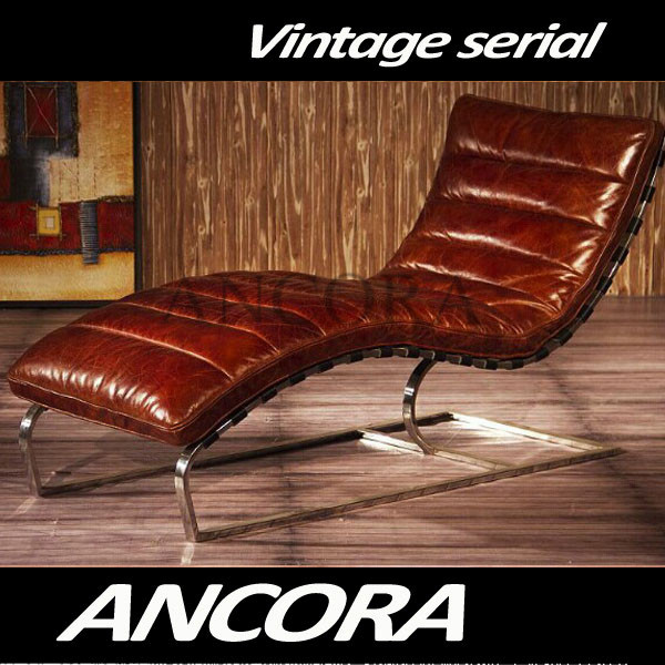 Antique style sex chaise lounge chairs for living room AN-2013
