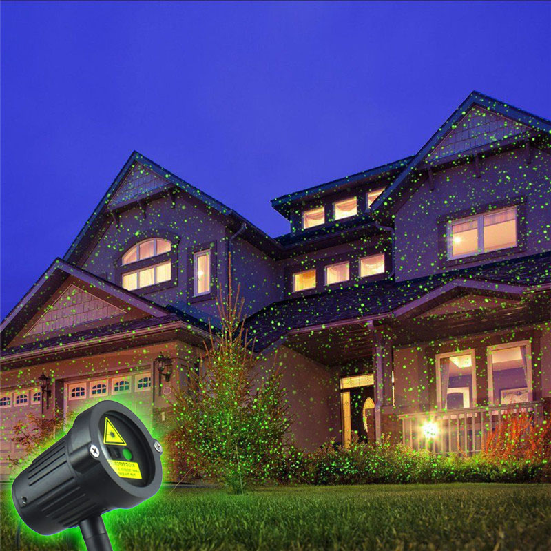 christmas lights projector outdoor holographic laser star projector