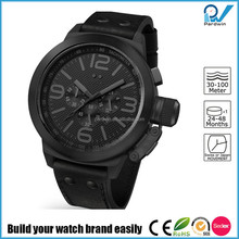 Big case man 316L stainless steel case multi-function watch movement calendar function watch style