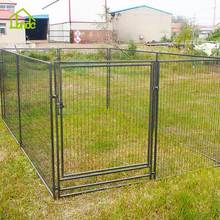 high grade large metal outdoor commercial foldable garden dog kennel cage