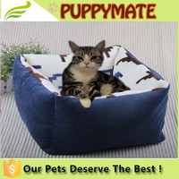 Luxury cat Beds Super Lovely Square Pet Beds for Cats