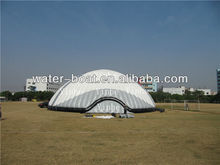 hot sale white Inflatable double-layer tent, air dome party tent, inflatable 3D sphere on sale