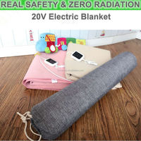 far infrared healthy safety 20V electric blanket for warming bed