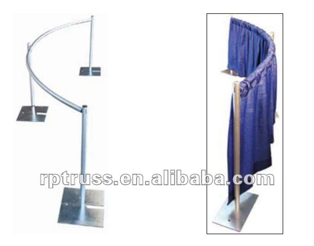 2012 hot selling RP curved drape support