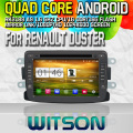 Witson S160 Android 4.4 Car DVD GPS For RENAULT DUSTER with Quad Core Rockchip 3188 1080P 16g ROM WiFi 3G Internet