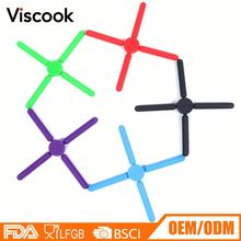 Customized Silicone Coated Folding Trivet