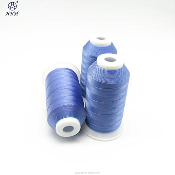 2016 hot sell #69 #138#210D/3 100% polyester Nylon N6 N66 bonded sewing thread