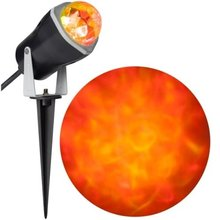 SINOHAMM 2017Halloween Outdoor Decoration LED Fire & Ice Spot Light Effect Projector