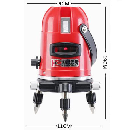 Red Beam Rotating Rotary Laser Level Land Self Leveling
