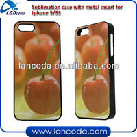 sublimation phone cases for iphone5/5s