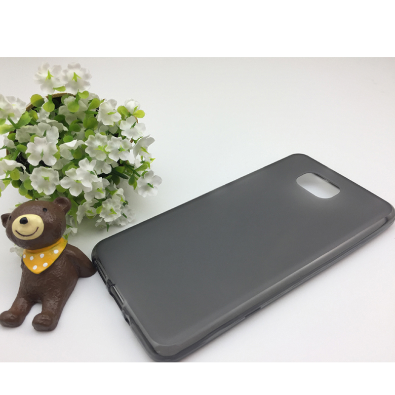Matte Soft Gel Pudding TPU Rubber Case For BQ Aquaris <strong>U2</strong> Lite Cover