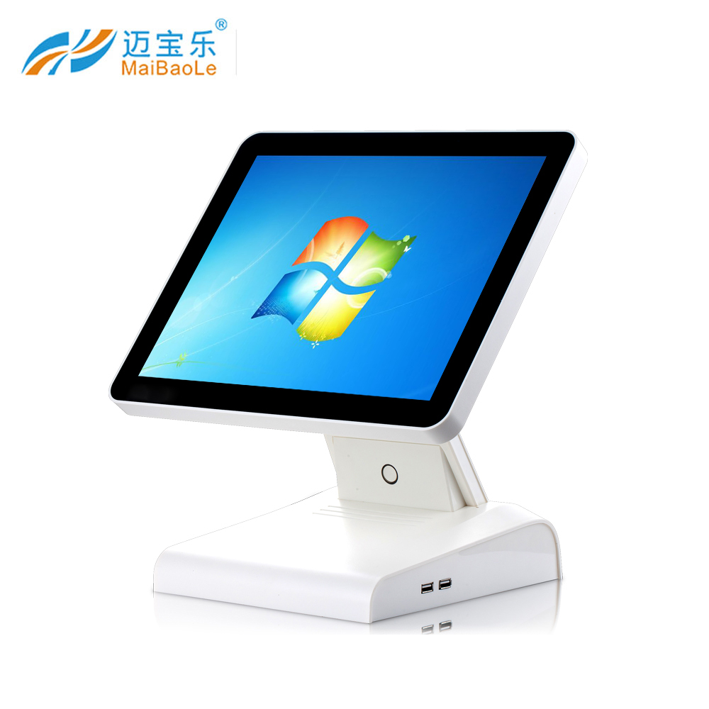 all in one touch screen pos intel 15 supermarket electronic cash register cashier table for convenience store