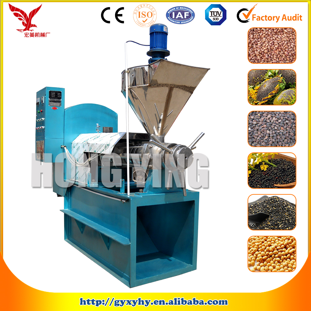oil plant machinery/soybean oil extraction plant/expeller press for sale