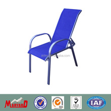aluminum mesh outdoor chairs+ outdoor sling stacking chair
