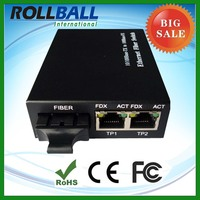 big sell 10/100M fiber optic modem rj45