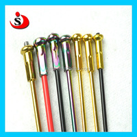 Chinese Manufacture Motorcycle Colored Stainless Steel Spokes and Nipples For Racing Kart