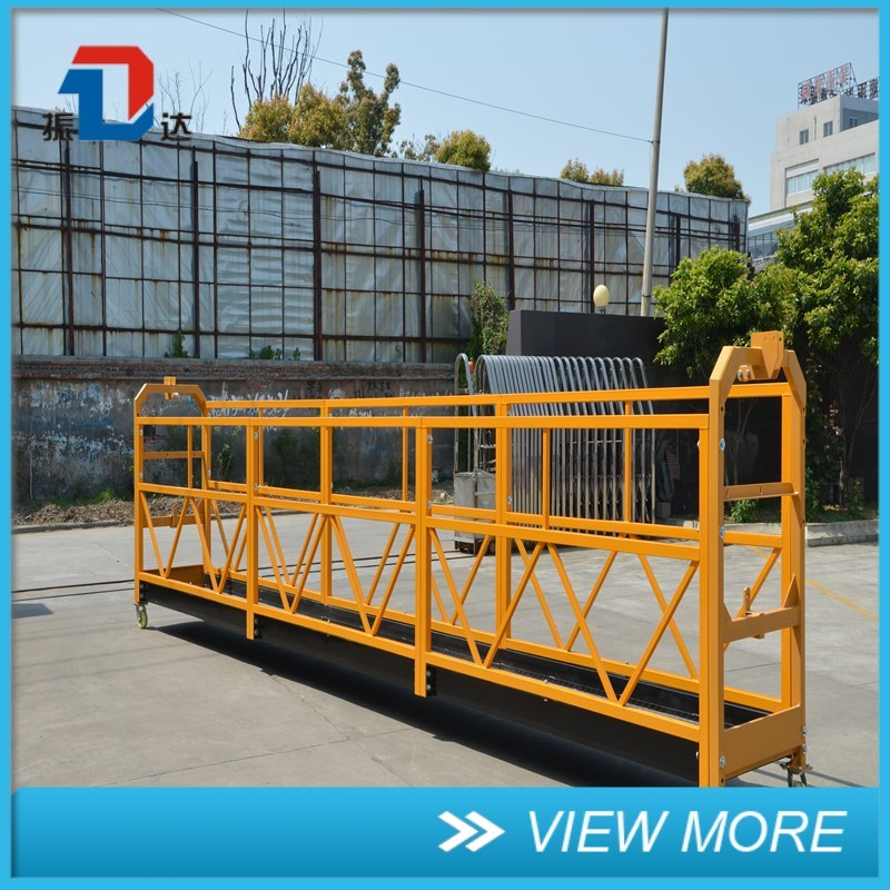 Window Cleaning ZLP Suspended Platform Importers Made In Usa
