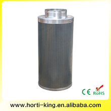 commercial hydroponics activated carbon filter fan system