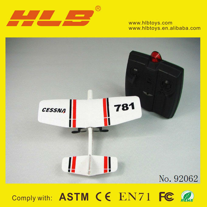 2012!!NEW 2CH RC Airplane RC Model Airplane#TW 782 EPP Biplane radio control plane
