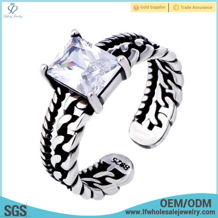 Hot selling men gents engagement wedding places egyptian the silver rings