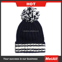 Wholesale Custom Winter Thick Knit Beanie