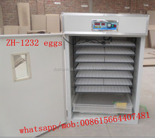 full automatic 1200 eggs hatchery machine/chicken incubator/poultry hatching machine